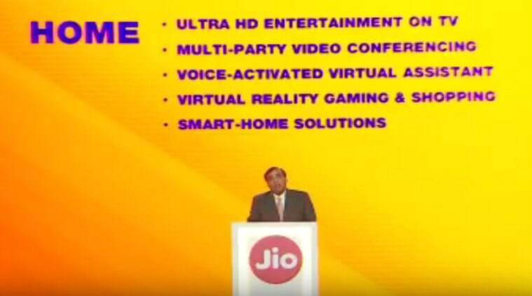 Reliance, Reliance Jio, Reliance JioGigaFiber, JioGigaFiber rollout, JioGigaFiber plans, Reliance AGN 2018, Mukesh Ambani JioFiber, JioFiber