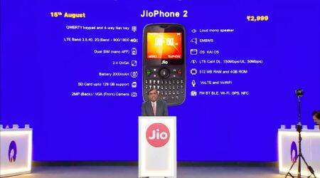 JioPhone 2 with QWERTY keypad, 2000mAh battery and more: Everything you need toknow