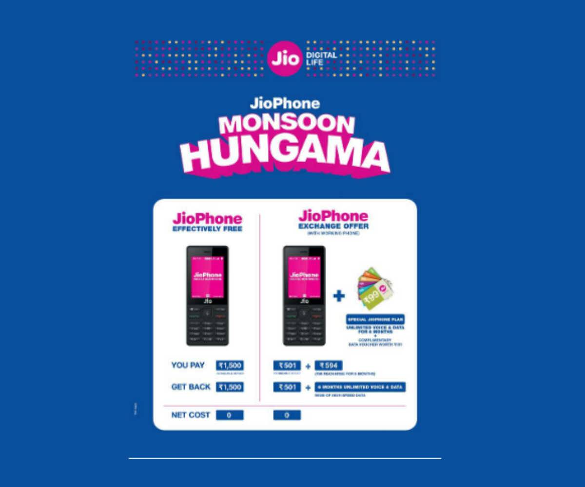 Jio Phone Exchange offer now live: Jio Phone at Rs 501, here