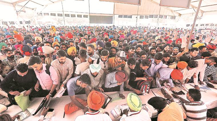 Punjab: Lack of English-speaking skills pose hurdle for hundreds of aspirants at International Job Fair