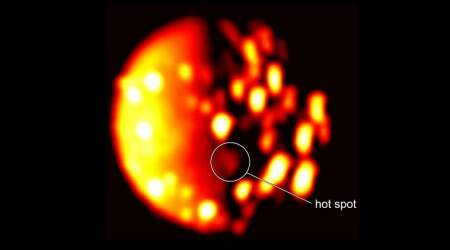 NASA's Juno spacecraft spots volcano on Jupiter moon Io