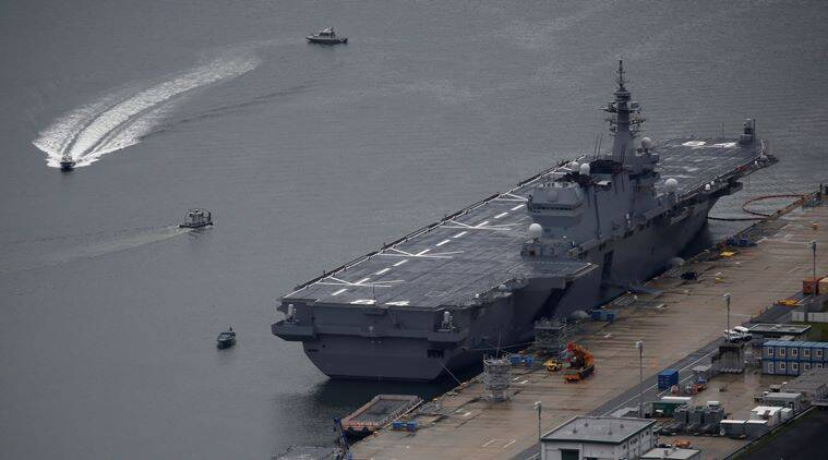 Japanese helicopter carrier to tour South China Sea, Indian Ocean for two months