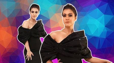 Kajol makes us do a double take in her risque Gaurav Gupta gown