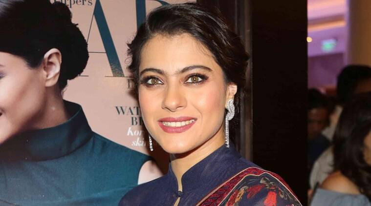 Kajol, Kajol latest photos, Kajol fashion, Kajol Sonam Luthria, Kajol contemporary wear, indian express, indian express news