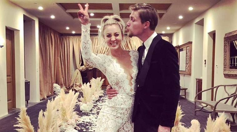 Big Bang Theory Actor Kaley Cuoco Marries Karl Cook Here Are Their