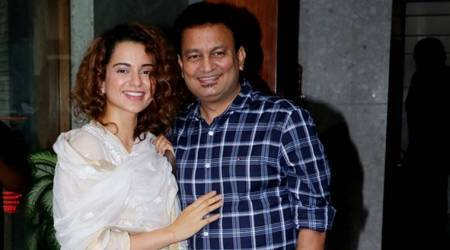 Kangana Ranaut's easy-breezy ivory salwar suit is the perfect pick for a lazy Sunday