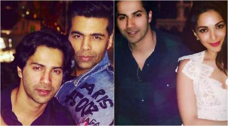 Varun Dhawan, Sidharth Malhotra and Kiara Advani party with Karan Johar