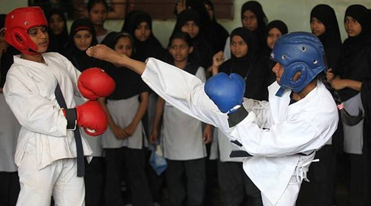 Upendra Kushwaha, Minister of State (HRD), Upendra Kushwaha, girl students, girl students self defence training
