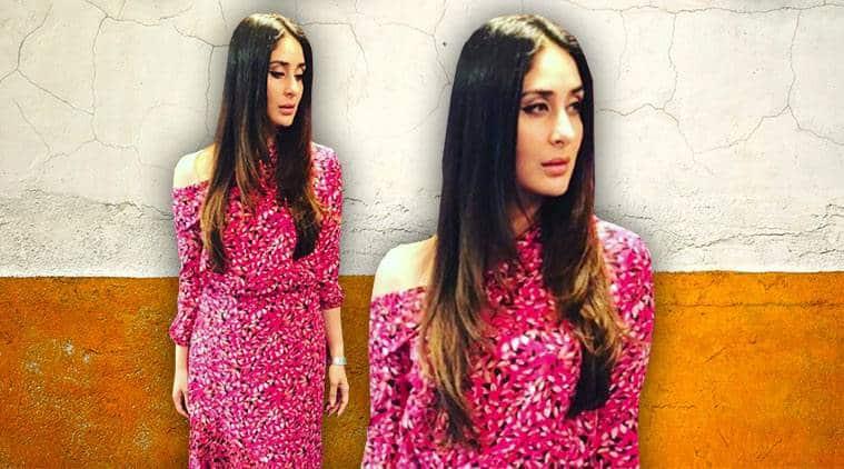 Kareena Kapoor Khan, Kareena Kapoor Khan latest photos, Kareena Kapoor Khan fashion, Kareena Kapoor Khan Saloni outfit, indian express, indian express news