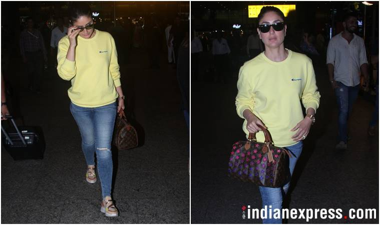 Best airport looks, Best airport looks bollywood, Deepika Padukone, kareena kapoor khan, yami gautam, janhvi kapoor, celeb fashion, bollywood fashion, indian express, indian express news