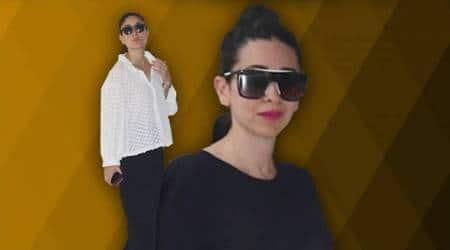 Kareena Kapoor Khan, Karisma Kapoor keep it simple in monochromeoutfits