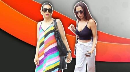 Add a pop of colour or go black-and-white the Karisma Kapoor and Malaika Arora way