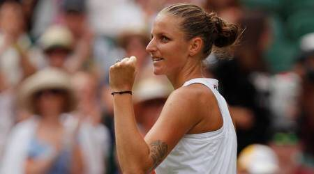 Karolina Pliskova sets up Tianjin final with Caroline Garcia