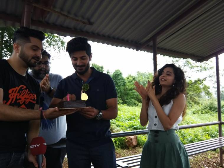 karwaan actors dulquer salmaan and mithila palkar