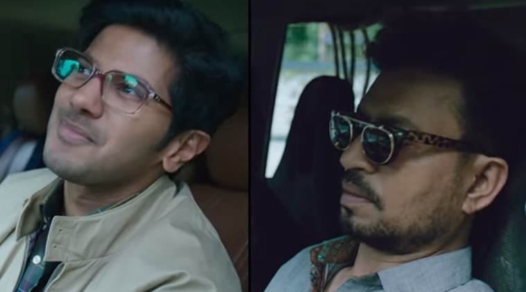 karwaan song featuring dulquer salmaan and irrfan khan