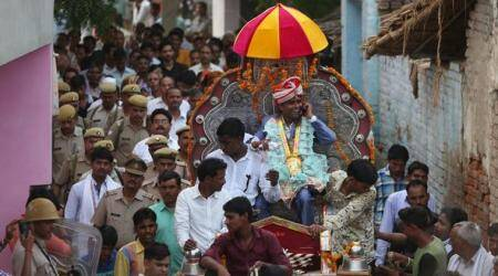 After 6-month wait, Dalit marriage party passes through Thakur-dominated village