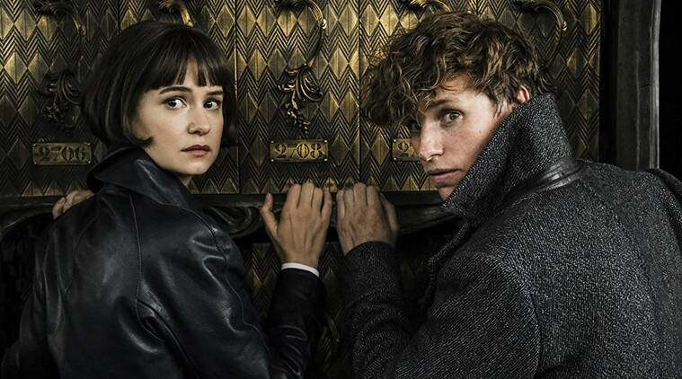 Katherine Waterston and Eddie Redmayne movie photos