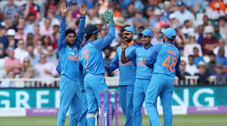 India vs England, Ind vs Eng, Siddarth Kaul, Siddarth Kaul catch, Siddarth Kaul India, Kuldeep Yadav, sports news, cricket, Indian Express