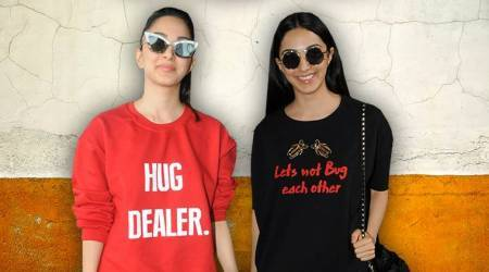 Kiara Advani has a quirky take on airport fashion; here's proof