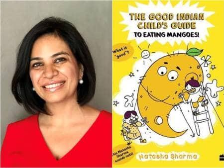 mango, mangoes, summer, king of fruits, kids, kid's book, natasha sharma, the good indian child's guide to eating mango, indian express, indian express parenting