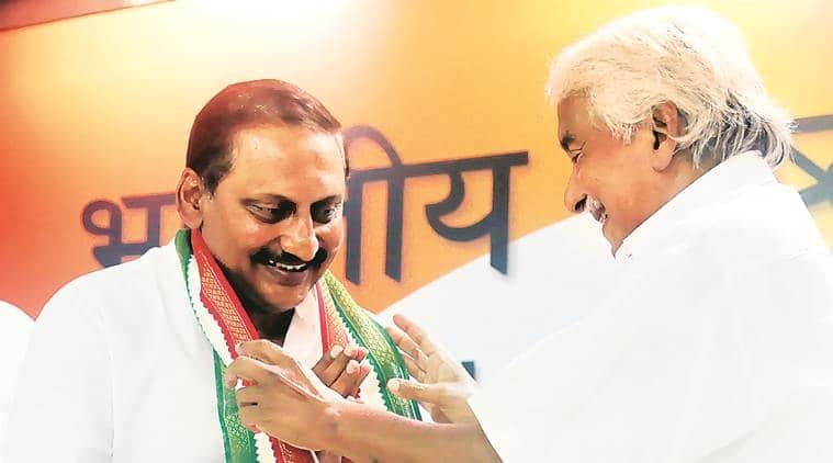 Former Andhra CM Kiran Reddy rejoins Congress