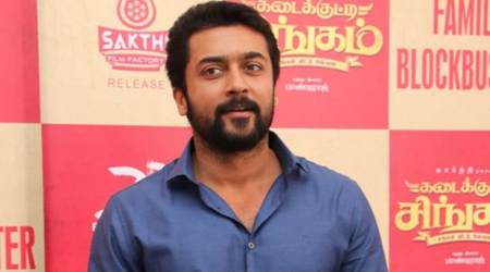 Suriya announces Rs 1 crore for farmers' welfare at Kadaikutty Singam success meet