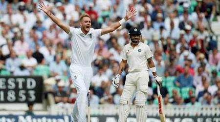 Expect Stuart Broad and James Anderson to challenge Virat Kohli's front foot, says Michael Vaughan