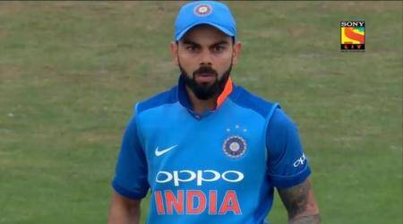WATCH: Virat Kohli left surprised by Adil Rashid ripper in 3rd England ODI