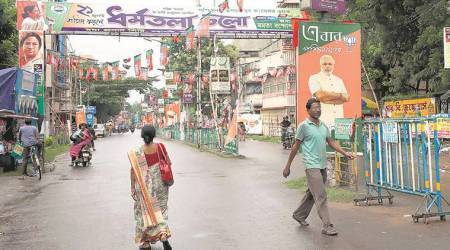 Modi rally in Midnapore town: BJP, TMC race to one-up each other