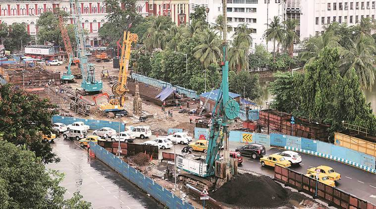 Kolkata: New traffic plan at BBD Bag as flank closed for East-West metro project