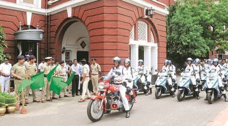 Kolkata Police flags off all-women patrol squad