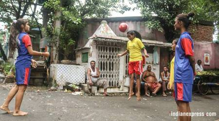 In Sonagachi, an all-girls football team that wants to kick stereotypes out of thepark