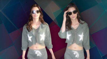 Airport look: Kriti Sanon's twist on athleisure wear is commendable