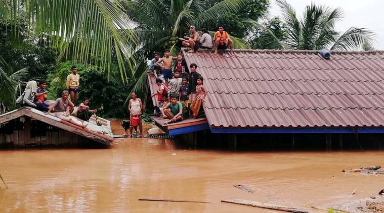 Hundreds missing in Laos after hydropower dam collapse: state media