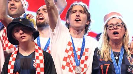 WATCH: Luka Modric invites boy with Down syndrome to join Croatia World Cup celebrations