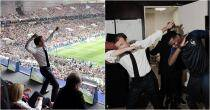 Dabbing to ecstatic fist pump: French President's celebrations after France's world cup win is going viral