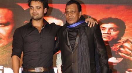 Mithun Chakraborty with his son Mahaakshay Chakraborty.