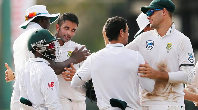 Maharaj grabs nine but Proteas' batting collapses again