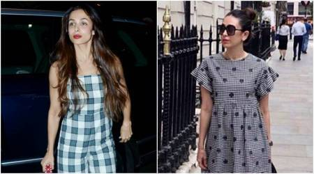 Bollywood Fashion Watch for July 10: Malaika Arora and Karisma Kapoor show how to beat the heat in check prints