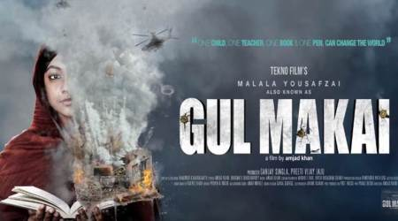 Gul Makai motion poster: Reem Shaikh as Malala Yousafzai fights for education