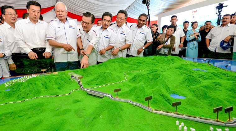 Malaysia halts China-backed projects