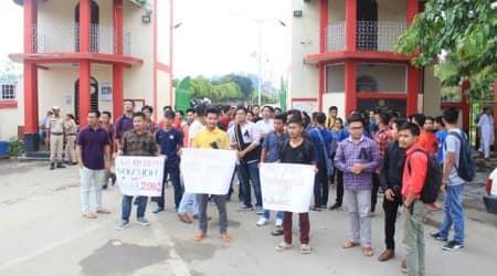 Manipur University impasse: Students' community to boycott Independence Daycelebrations