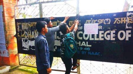 Internet services suspended as Manipur varsity protest intensifies