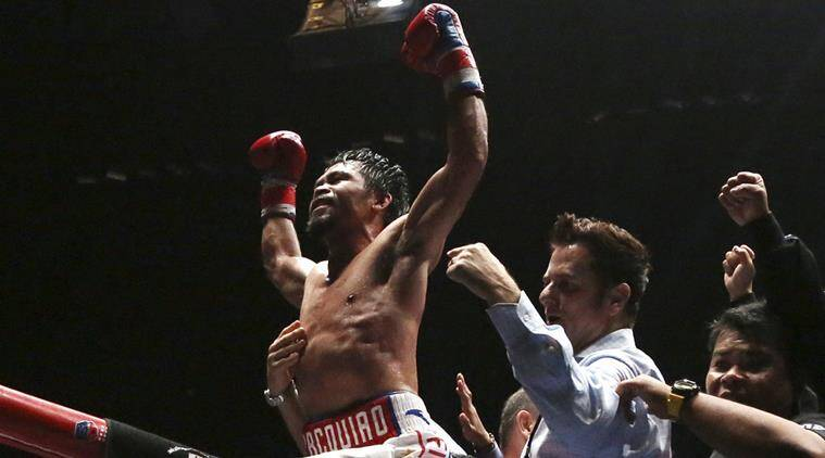 Manny Pacquiao, Manny Pacquiao news, Manny Pacquiao updates, Manny Pacquiao vs Lucas Matthysse, sports news, Indian Express