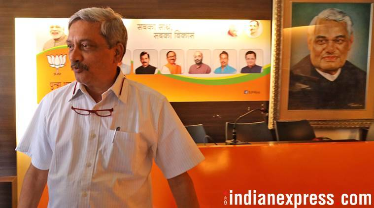 manohar parrikar, goa cm, goa chief minister, manohar parrikar health, manohar parrikar health condition, indian express