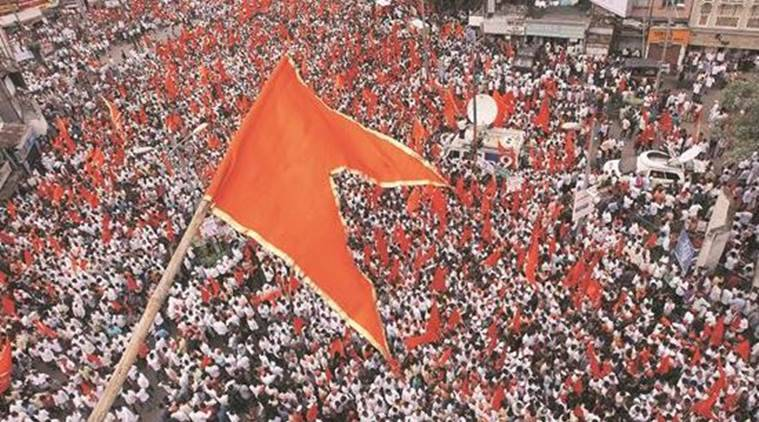 maratha agitation, maratha community agitation, shivaji maharaj, maharashtra protests, obc quota, maratha reservation, maratha aarakshan