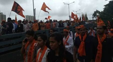 A group of Marathas from Gangapur taluka had warned the local administration they would take 'Jal Samadhi' (drowning) at 3 pm in the river to protest on Monday.
