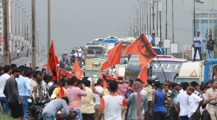 Pro-quota maratha group calls off Mumbai bandh call after stir turns violent