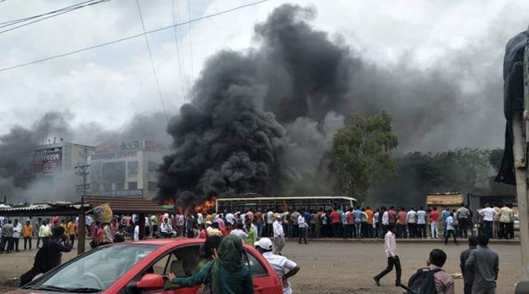 Maratha reservation stir: Violence erupts in Chakan, protestors block Pune-Nashik highway