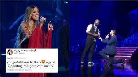 WATCH: Mariah Carey helps man propose to his partner on stage, gets praise online